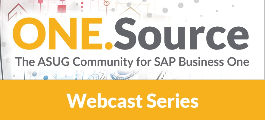 Branching Out with SAP Business One | Webcast Summary