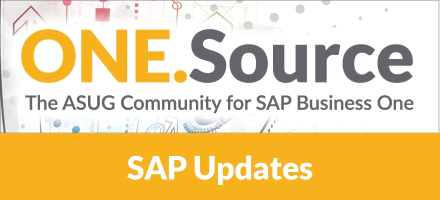 Manufacturing with SAP Business One: Additions to Production in 9.3 | Webcast on October 18, 2018