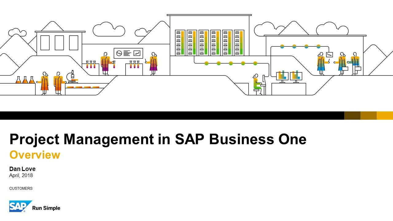 Insights from SAP: SAP Business One Project Accounting   Webcast Summary