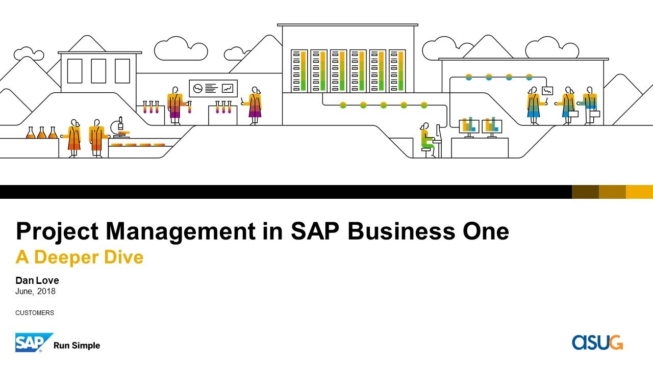 Project Management in SAP Business One: A Deeper Dive | Webcast Summary