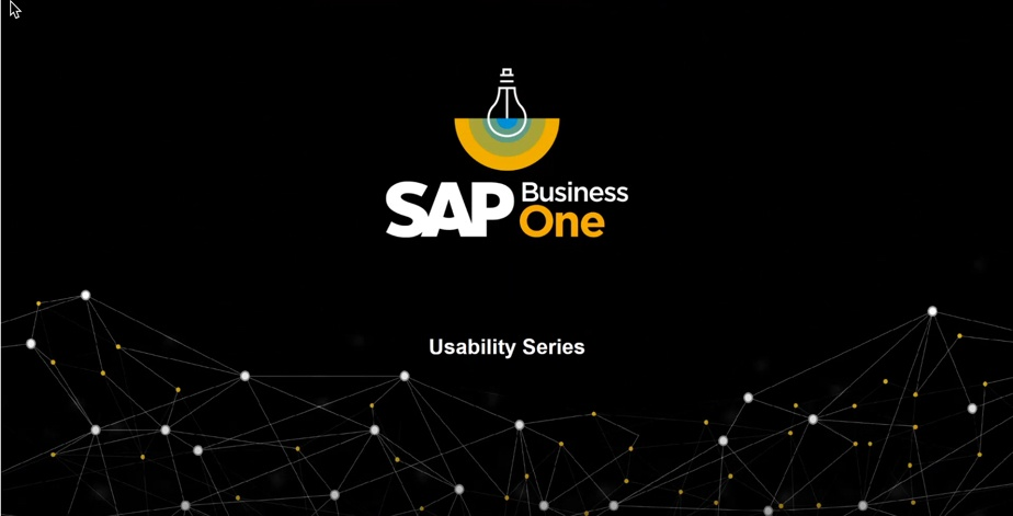 SAP Business One Usability Videos from SAP and ASUG